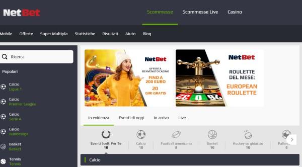 NetBet Scommesse Italia